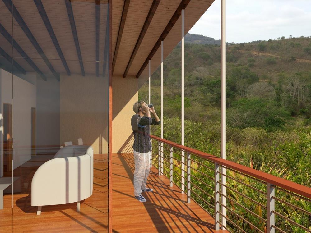 Artist Rendering of Oasis In Ecuador Casita