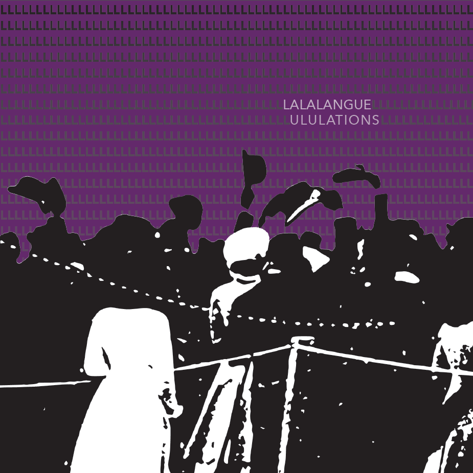 Album design (cover) for Lalalangue
