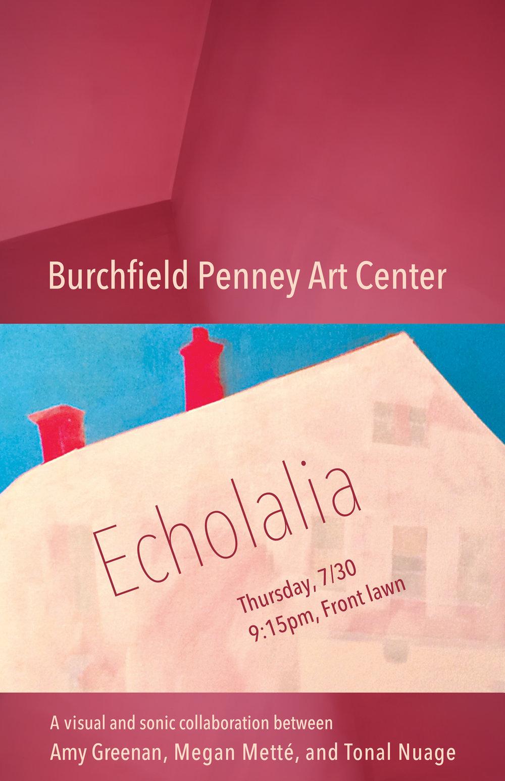 Poster design for Echolalia