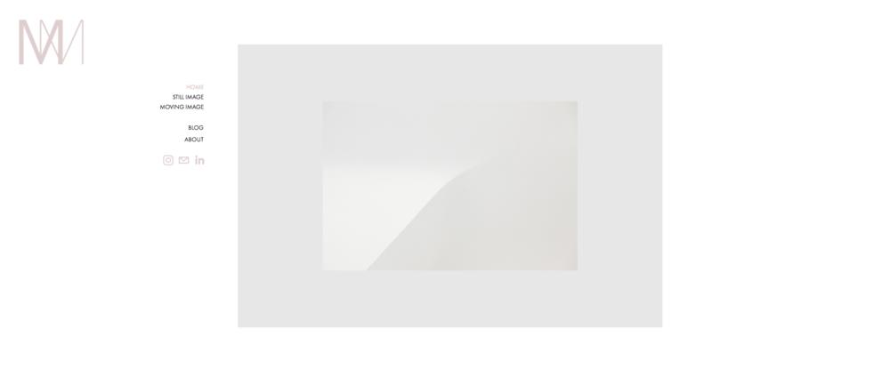 Web design for personal website