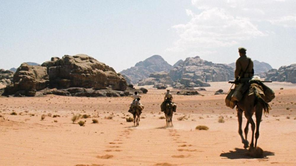 Theeb traverses the Jordanian desert with the title character and his brother.