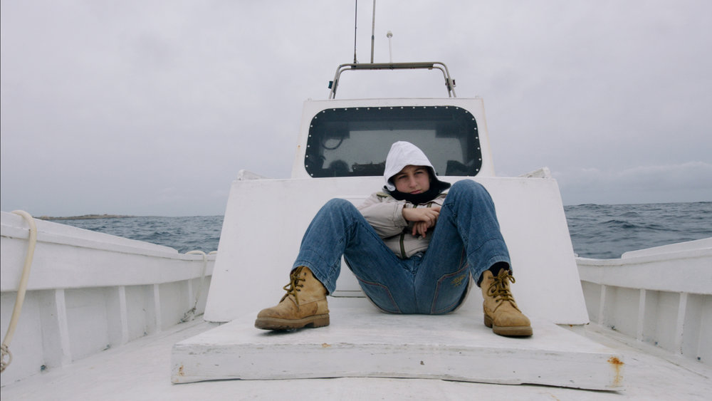 Samuele, a young resident of Lampedusa, draws strong focus in Fire at Sea