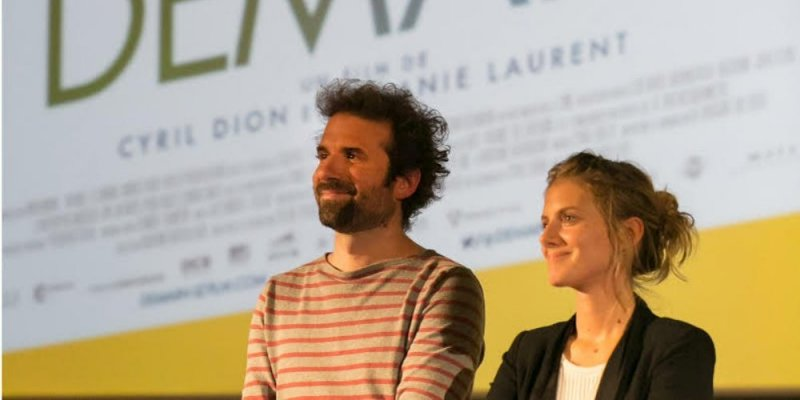 Demain directors Cyril Dion and Mélanie Laurent