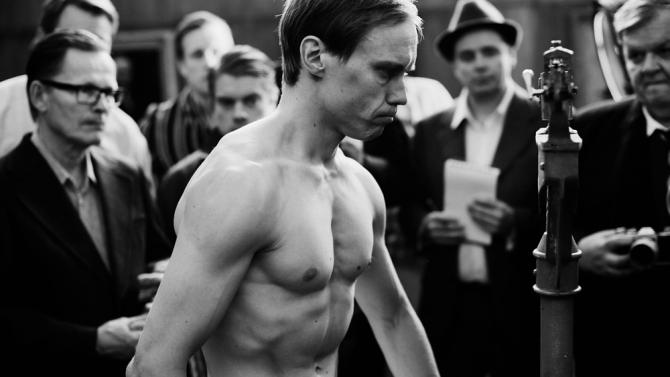 Jarkko Lahti stars as the titular boxer, Olli Mäki.