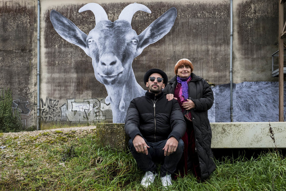 62 years after directing her first feature, Agnès Varda says her latest award-winning documentary  Visages, Villages , co-directed with street artist JR, may be her last film.