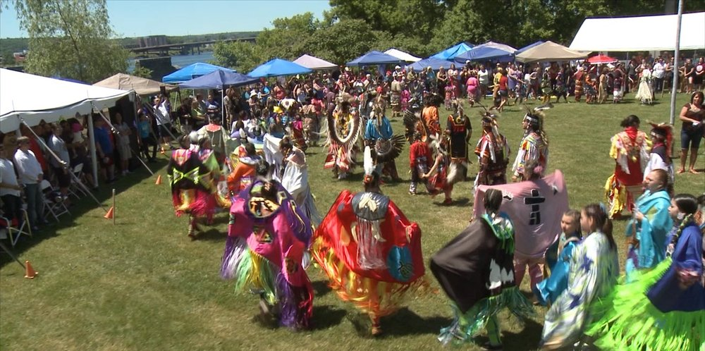 The St. Mary's First Nation community hosted 4000 people at their vibrant summer pow wow.