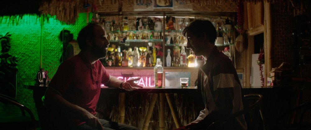 Brett Gelman (left) and Mark Little (right) buoy slacker comedy  Room For Rent  with well-honed comedic performances