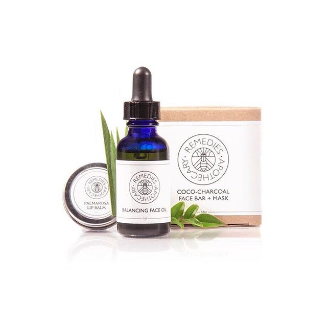 ~Face Bundle~ Get more for your money when you buy one of our beauty bundles! *Containing our Coco-Charcoal Face + Mask to cleanse/detox skin, our Balancing Face Oil to repair/hydrate face and neck, and our Palmarosa Lip Balm to heal dry/cracked lips! #naturalskincare #loveyourskin #remedies #faceoil #charcoalsoap #lipbalm #beautybundles #remediesapothecary #healing #hydrating #detoxing #repairing