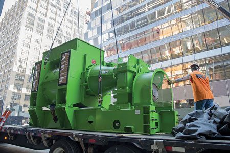 GE has delivered more than 8,000 MW of gas engines in CHP applications around the globe. If all were located in New York City, they would meet more than half of the city's peak power needs. Photo courtesy: GE