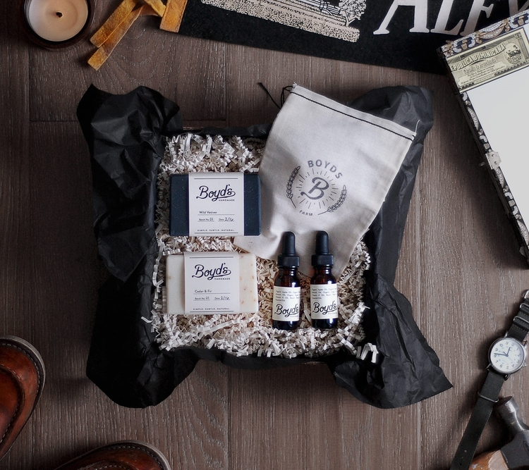 Boyd's Farm | Soap and Serum Bundle $48