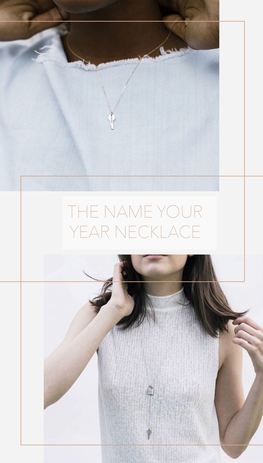 The Giving Keys | The Dainty Necklace $45