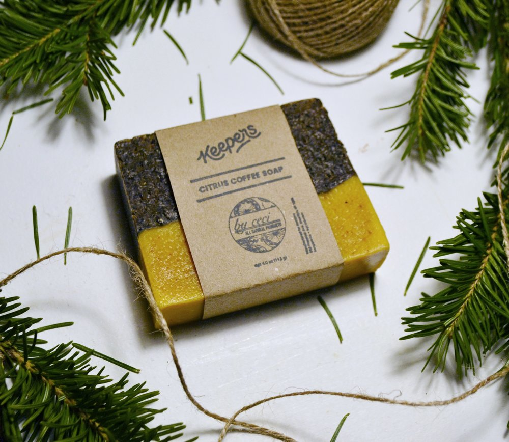 Citrus Coffee Soap $8