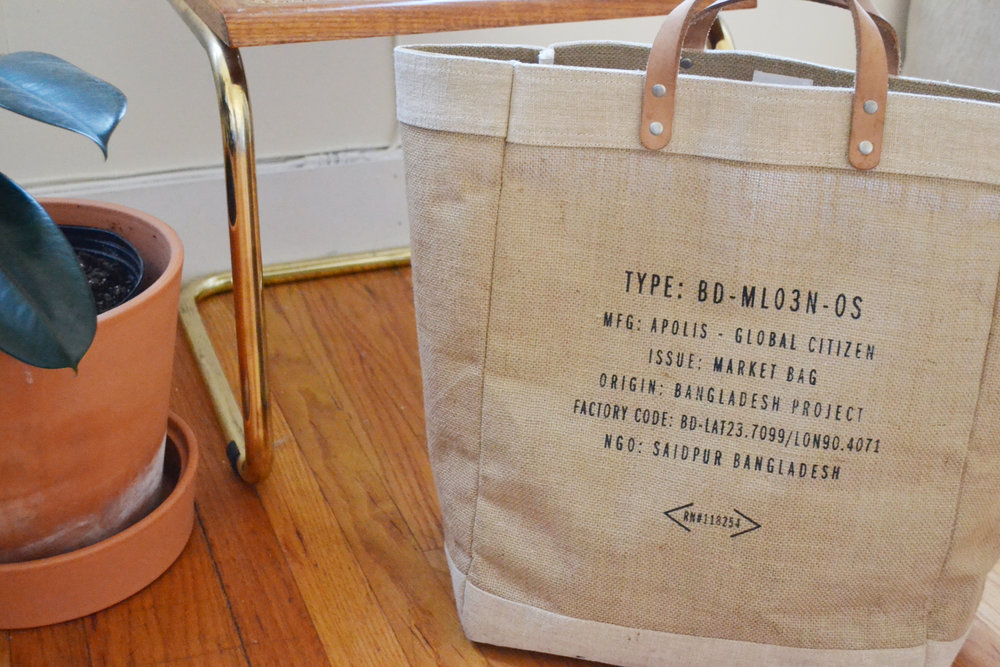 Apolis Market Bag | $68
