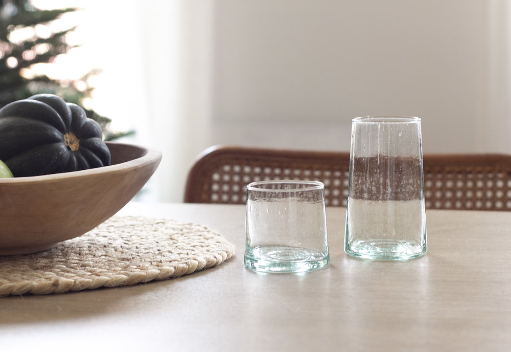 Recycled glass Tumblers | General Store $10