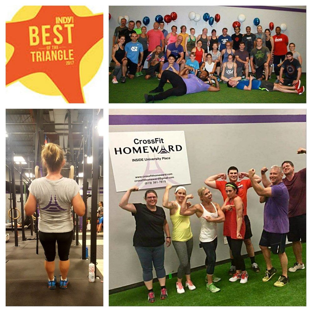 We are so happy to announce that CrossFit Homeward has won Best New Business in Orange/Chatham County!  We could not have done this without the support of our incredible staff and community.    We can only win Best New Business once but we promise to uphold our core values to make sure we keep delivering everything that got us to this point.