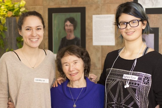 CRLS Portrait Art Reception at Youville House