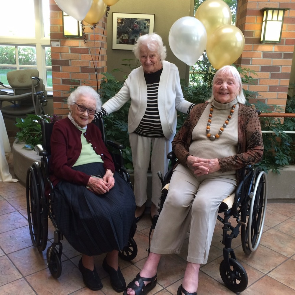 Honoring Youville House Centenarians