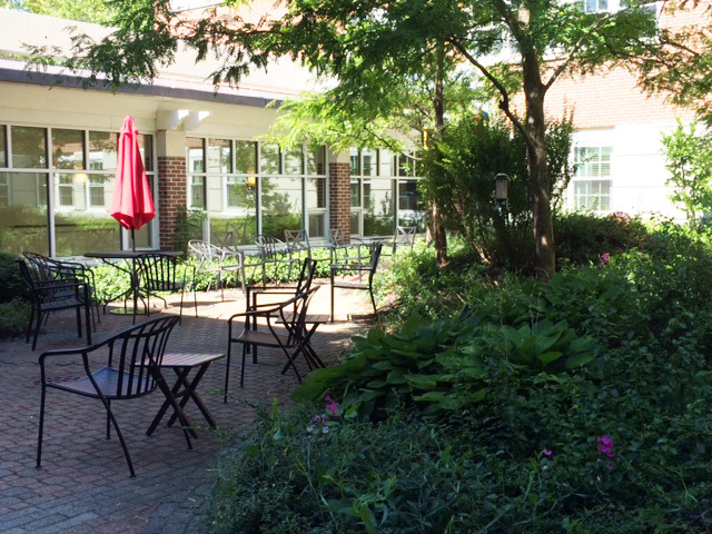 The Scenic Courtyard at Youville Place