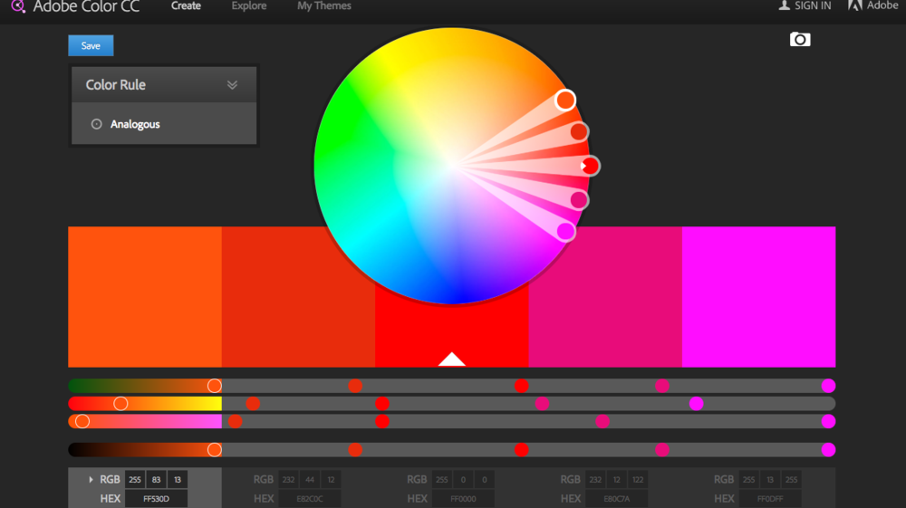 Learning how colors work together is an important first step in creating more professional looking designs.