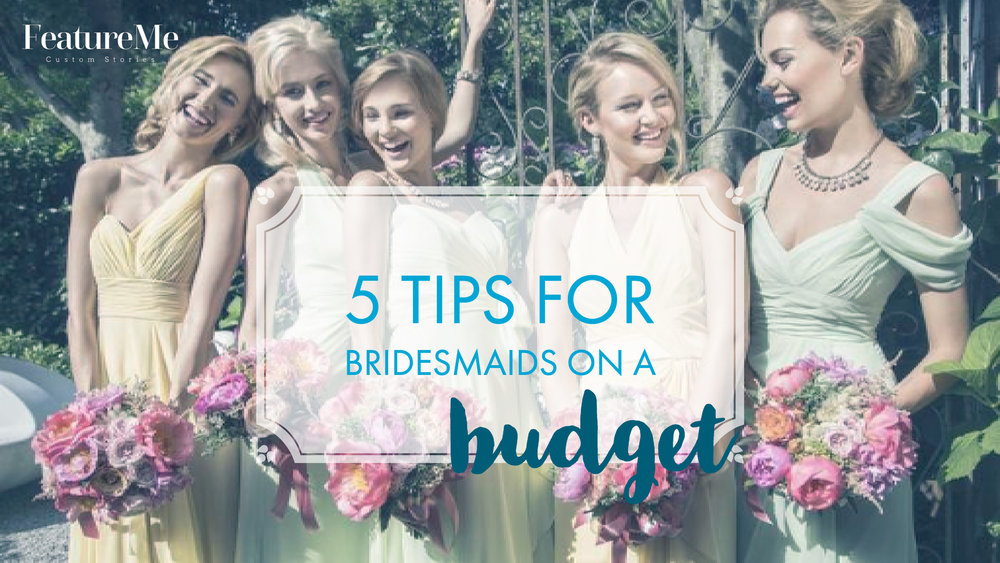 how to budget as a bridesmaid
