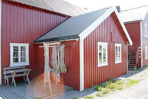 Overnatting, Å i Lofoten, rorbu. Å Feskarbrygga.