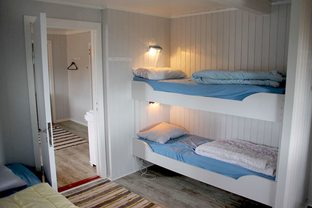 Accommodation, Å in Lofoten, rorbu - seahouse. Å Feskarbrygga.