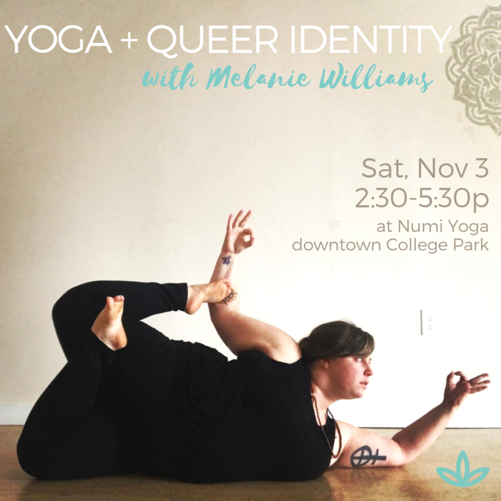 Yoga + Body Image - Series with Melanie Williams