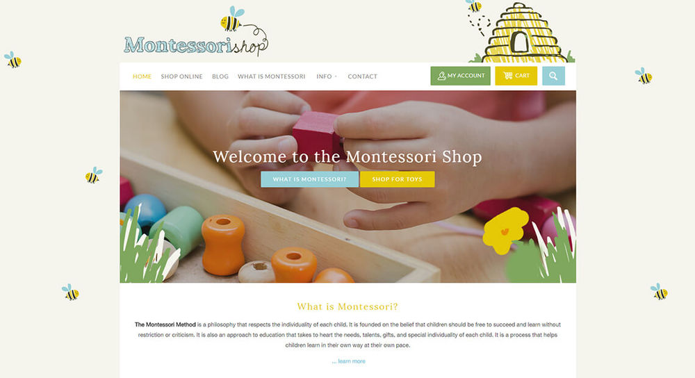 Montessori Shop www.montessorishop.co.nz