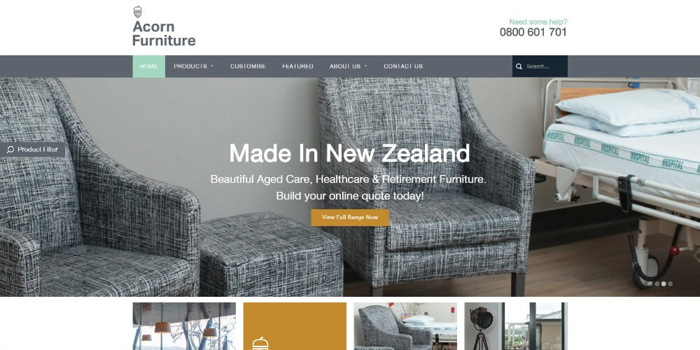 Acorn Furniture www.acornfurniture.co.nz