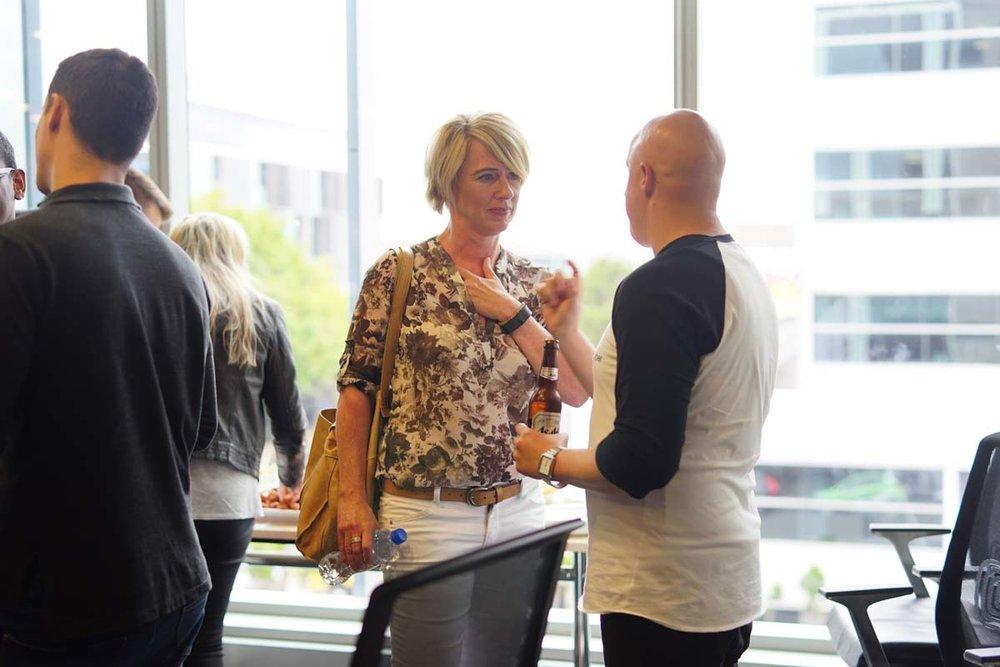 Shopify Meetup Auckland - Merilyn Havler & Leonardo