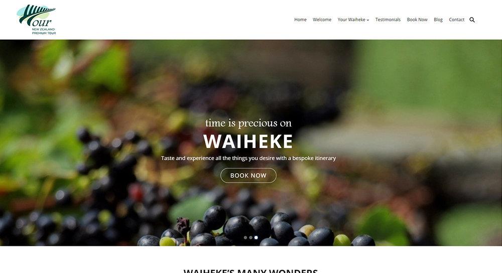 Waiheke Premium Tours     newzealandpremiumtour.co.nz