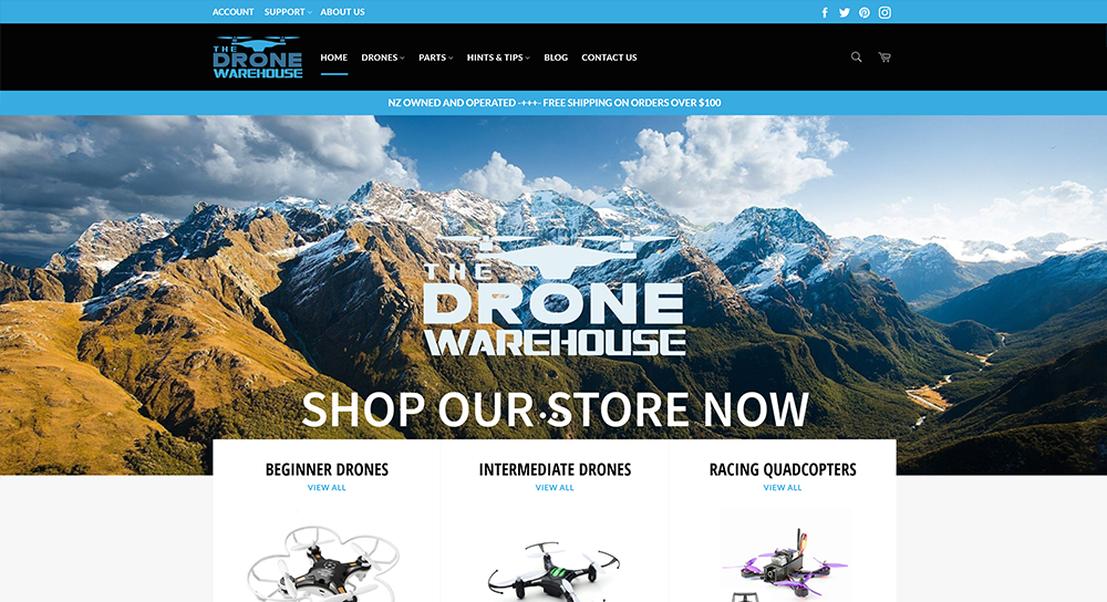 The Drone Warehouse   www.thedronewarehouse.co.nz/