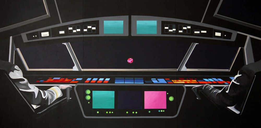 Rainbow Control Room (2001 Space Odyssey)