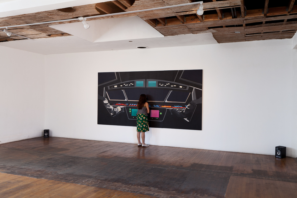 Rainbow Control Room (2001 Space Odyssey) INSTALL VIEW