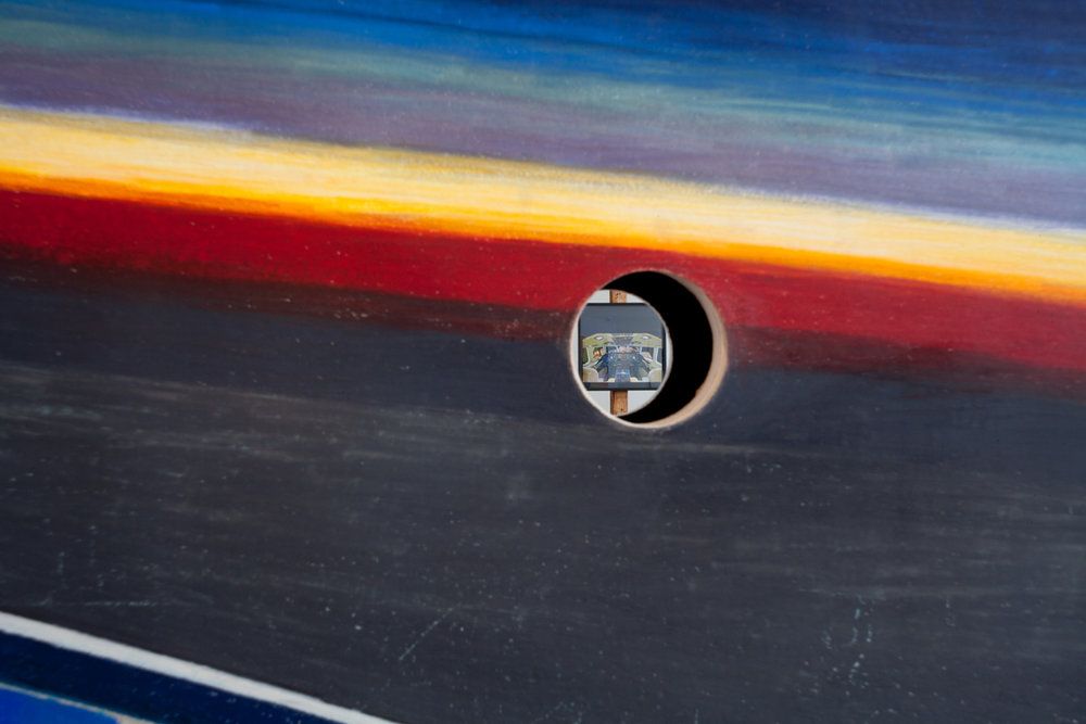Disco Cockpit (DETAIL of HOLE)