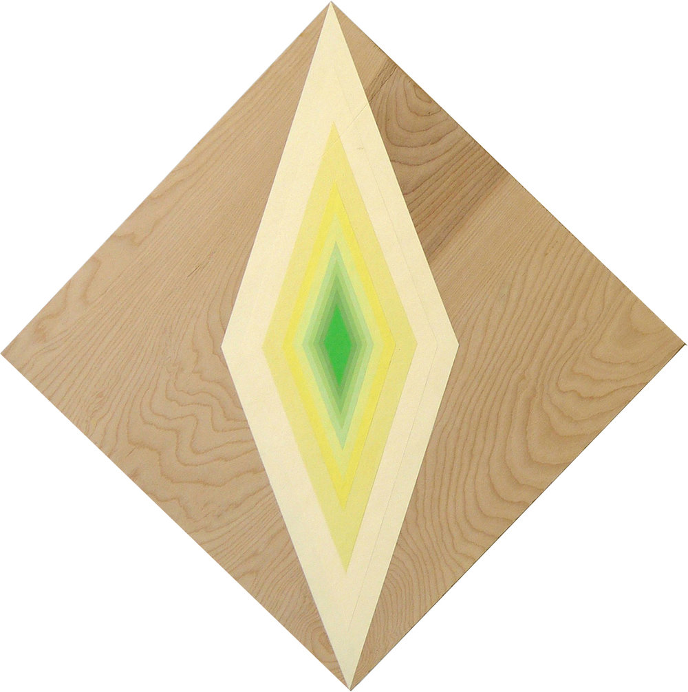Untitled(Yellow Diamond)