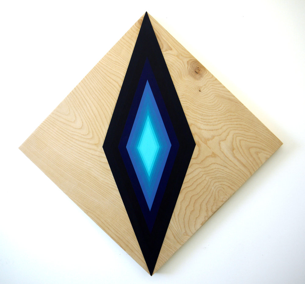 Untitled(Blue Diamond)