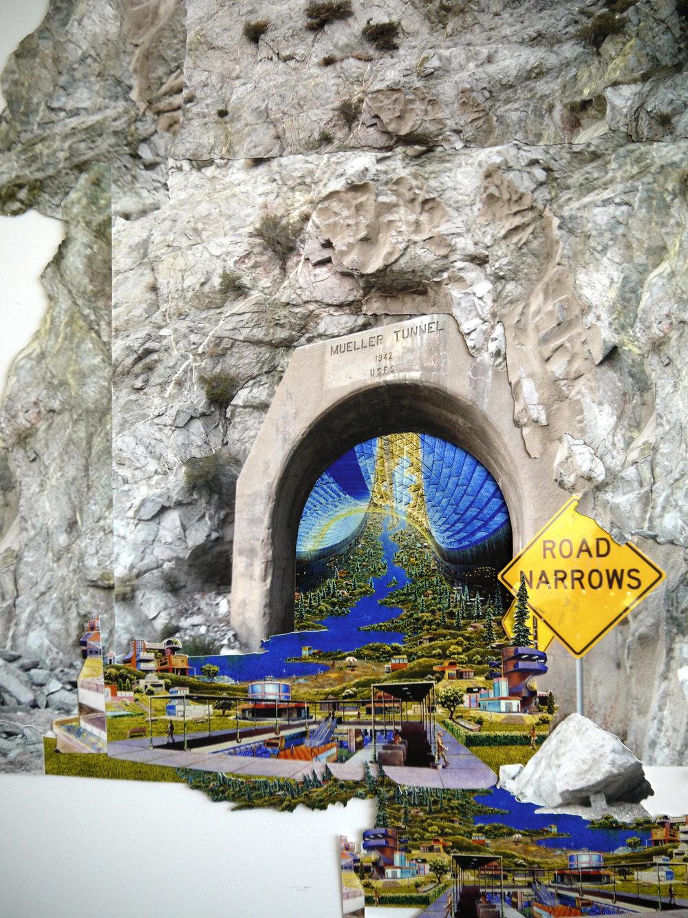 Mueller Tunnel (Detail)