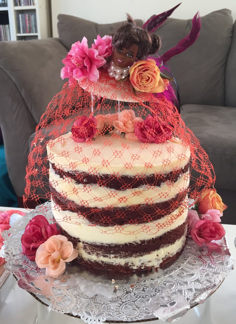 Red Velvet Fascinator Cake.JPG