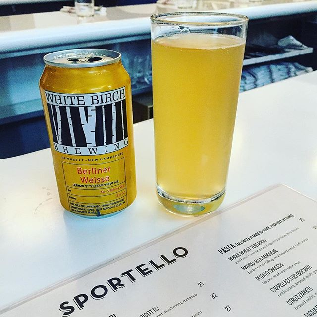 Awesome beer and great food @sportelloboston