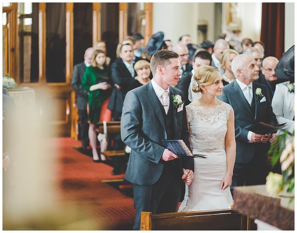 wedding photography - the church ceremony