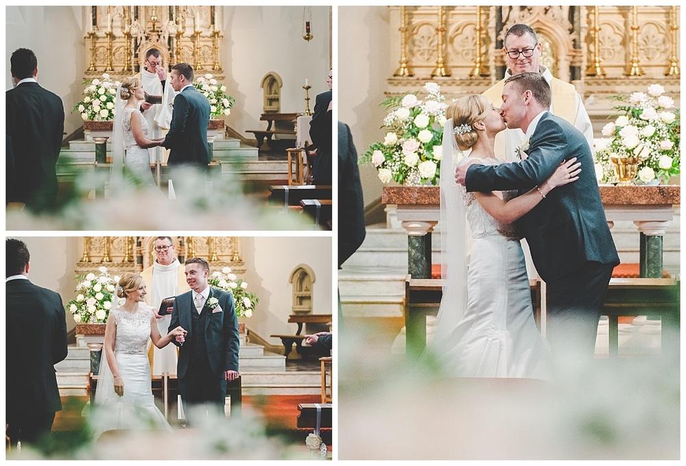 lancashire wedding photographer at Preston Church.