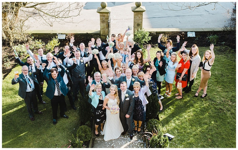 Stirk House Hotel Wedding - Ribble Valley Manchester Wedding Photographer (19)