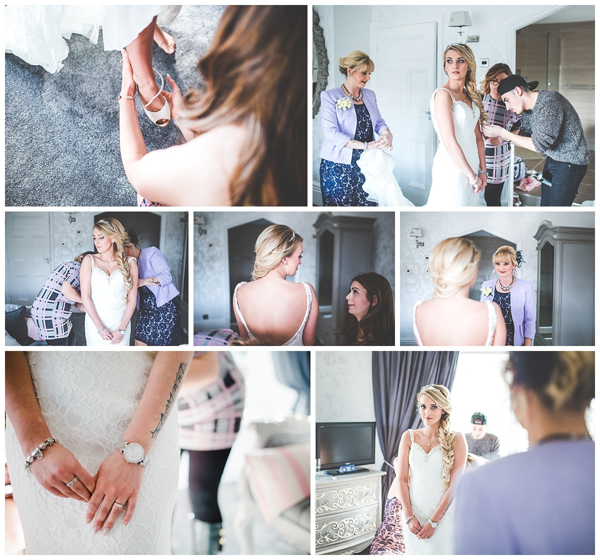 Stirk House Hotel Wedding - Ribble Valley Manchester Wedding Photographer (7)