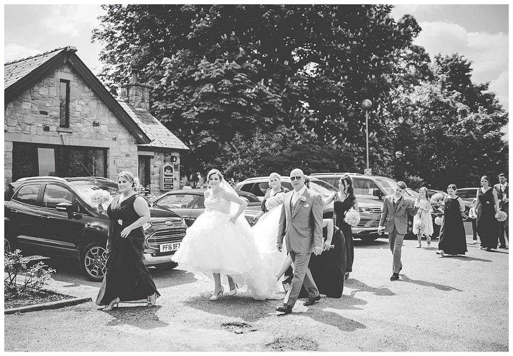Mytton Fold Wedding - Festival Themed Wedding - Lancashire Wedding Photographer_0349