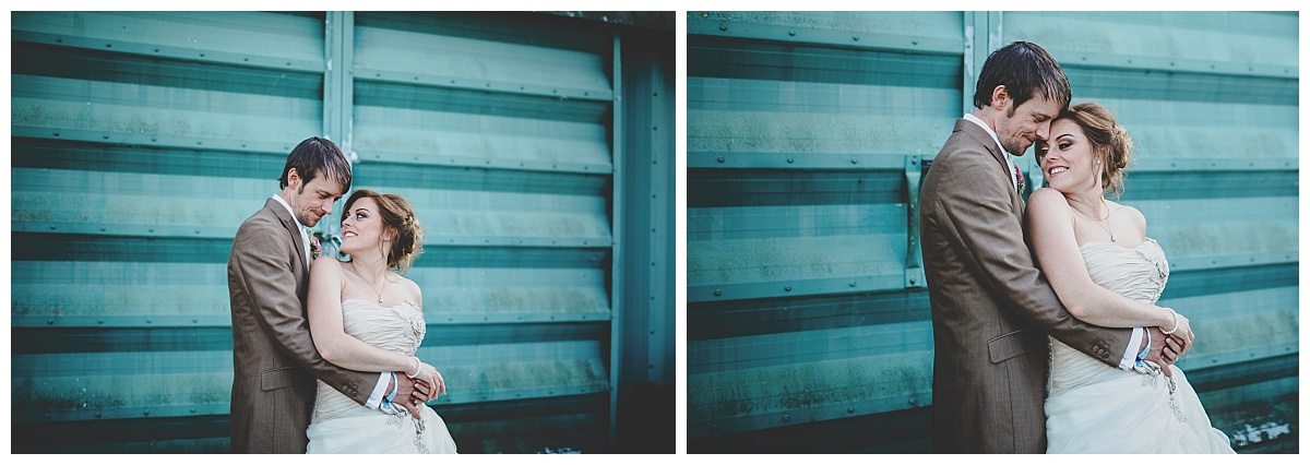 intimate and relaxed wedding portraits in lancashire