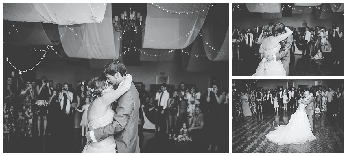first dance at mytton fold wedding in lancashire