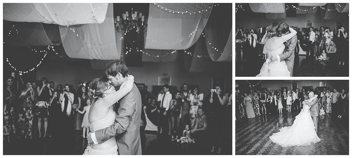 first dance at mytton fold wedding in lancashire
