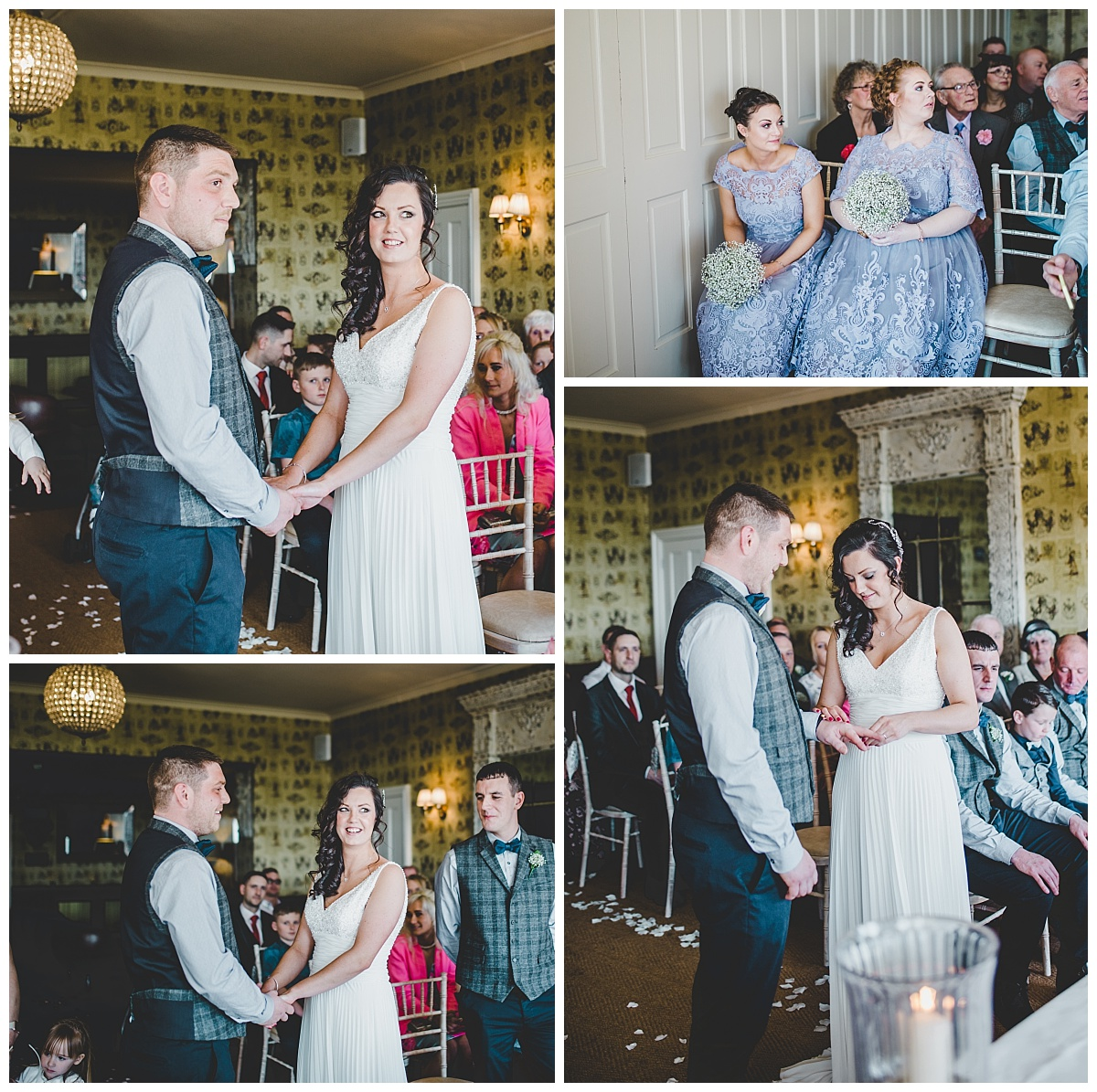 wedding ceremony in Ribble Valley pub