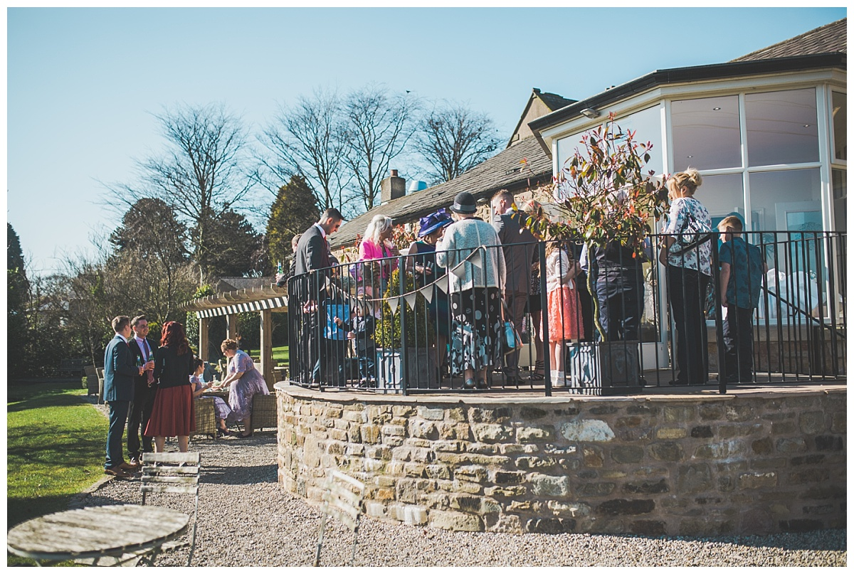 documentary images of guests at a wedding in ribble valley lancashire